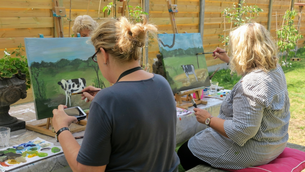 "Schilderworkshops ""en plein air"""