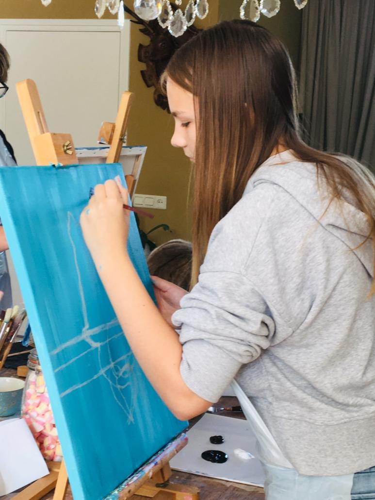 Intuïtief schilderen voor jongeren